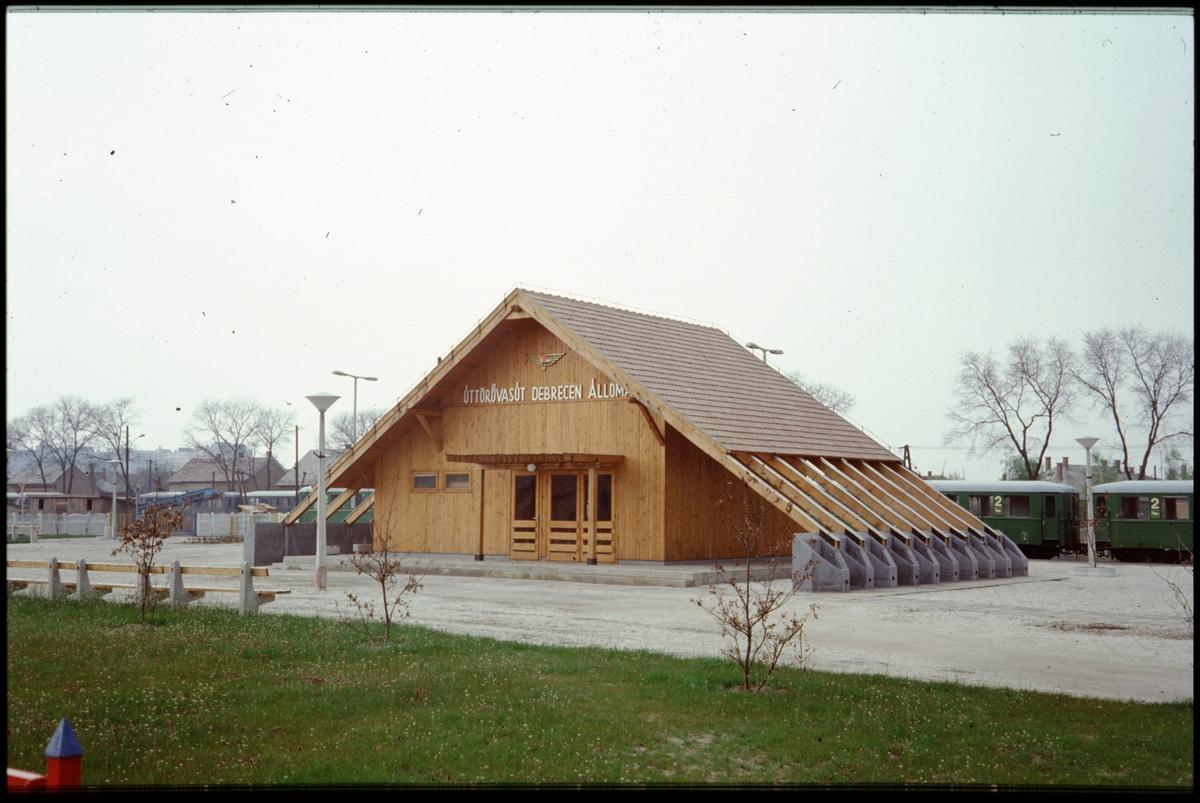 Stationshus i Debrecen, Ungern.