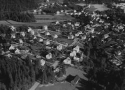 Flygfoto över Forserum i Nässjö kommun. Nr M 1012.