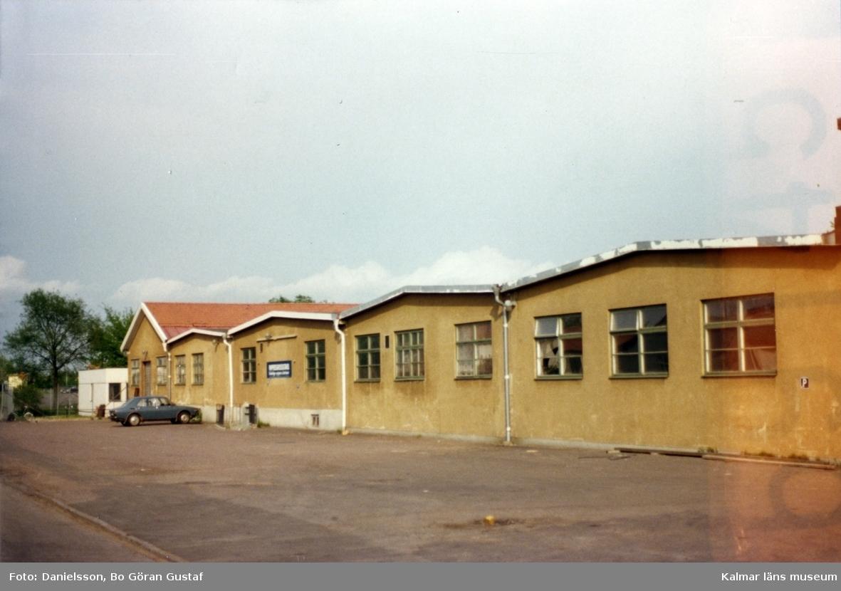 Nybloms kartongfabrik på Slöjdargatan 2. Bertil Danielsson var byggmästare.