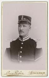 Porträtt av okänd soldat vid Göta livgarde I 2.