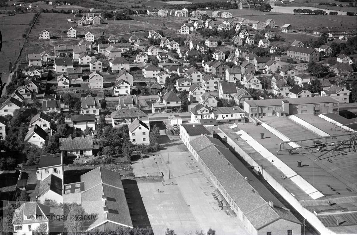 Stavanger ytre. Bispeladegård (sør) Mot N.V.