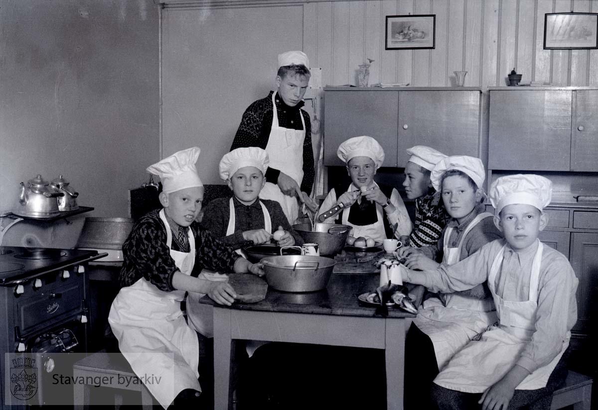 Skolekjøkken på Storhaug skole