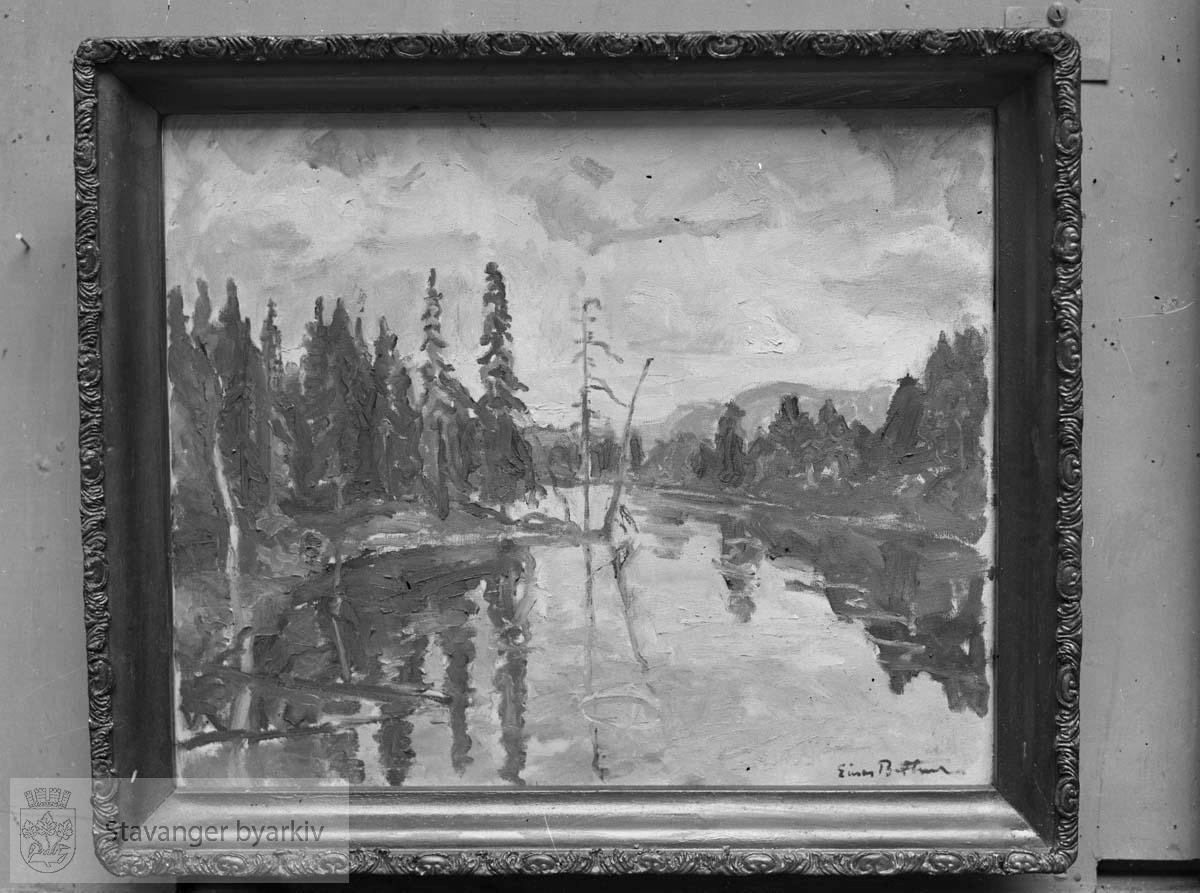 Avfotografert maleri