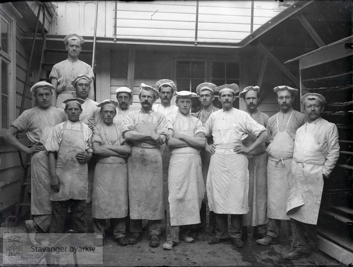 Arbeidsstokken til ukjent bakeri