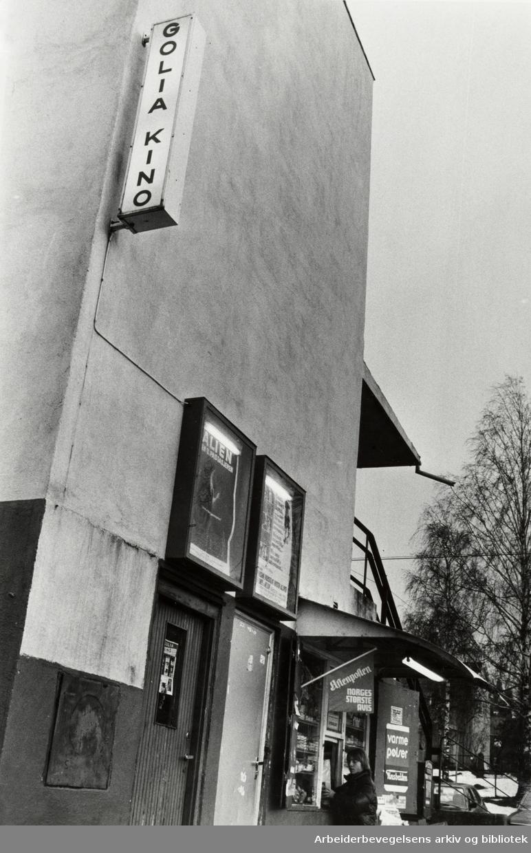 Golia kino. Desember 1980