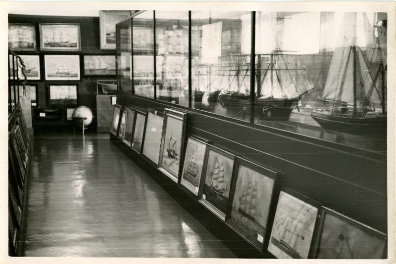Fra Norsk Sjøfartsmuseums utstilling i Generalitetsgården.