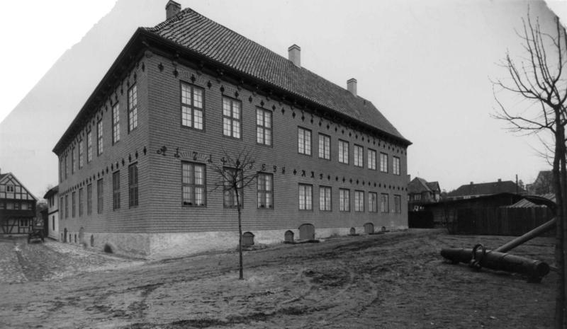 Norsk Sjøfartsmuseums bygning, 1933.