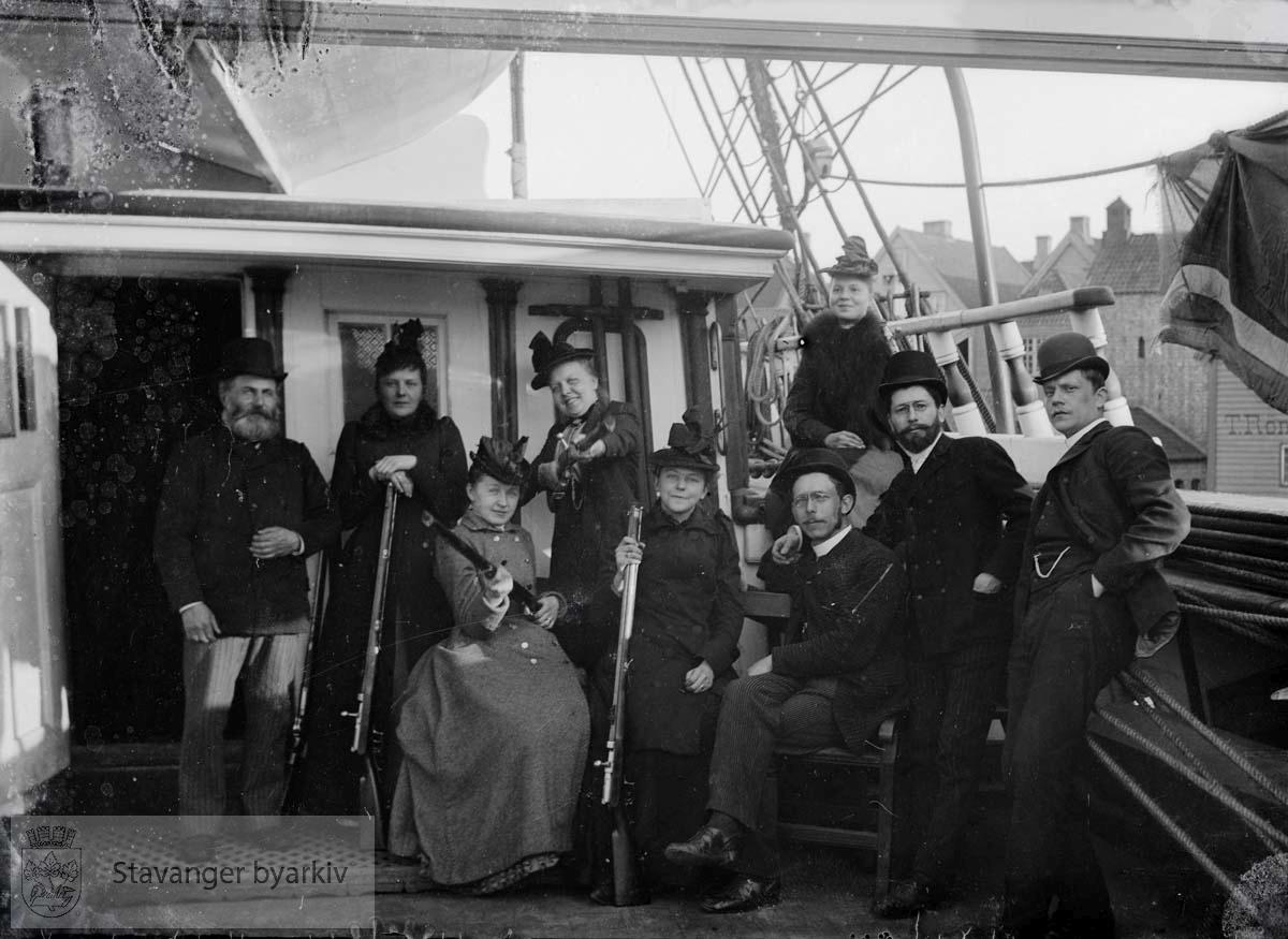 "Ombord i ""Wilhelm Anton"""