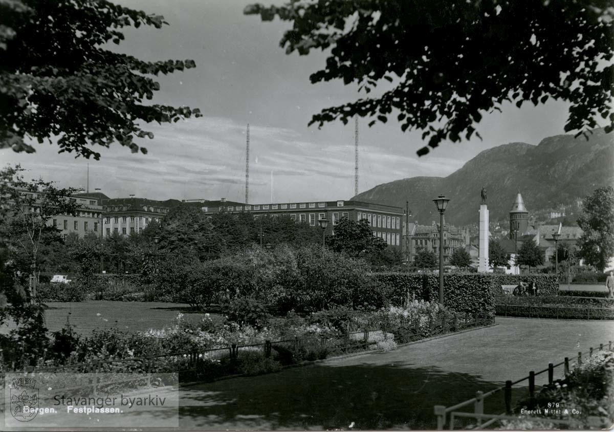 Bergen, Festplassen