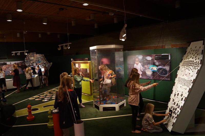 Foto fra utstillingen 'En verden på spill'. Foto: Sigurd Nielsen 2014 (Foto/Photo)