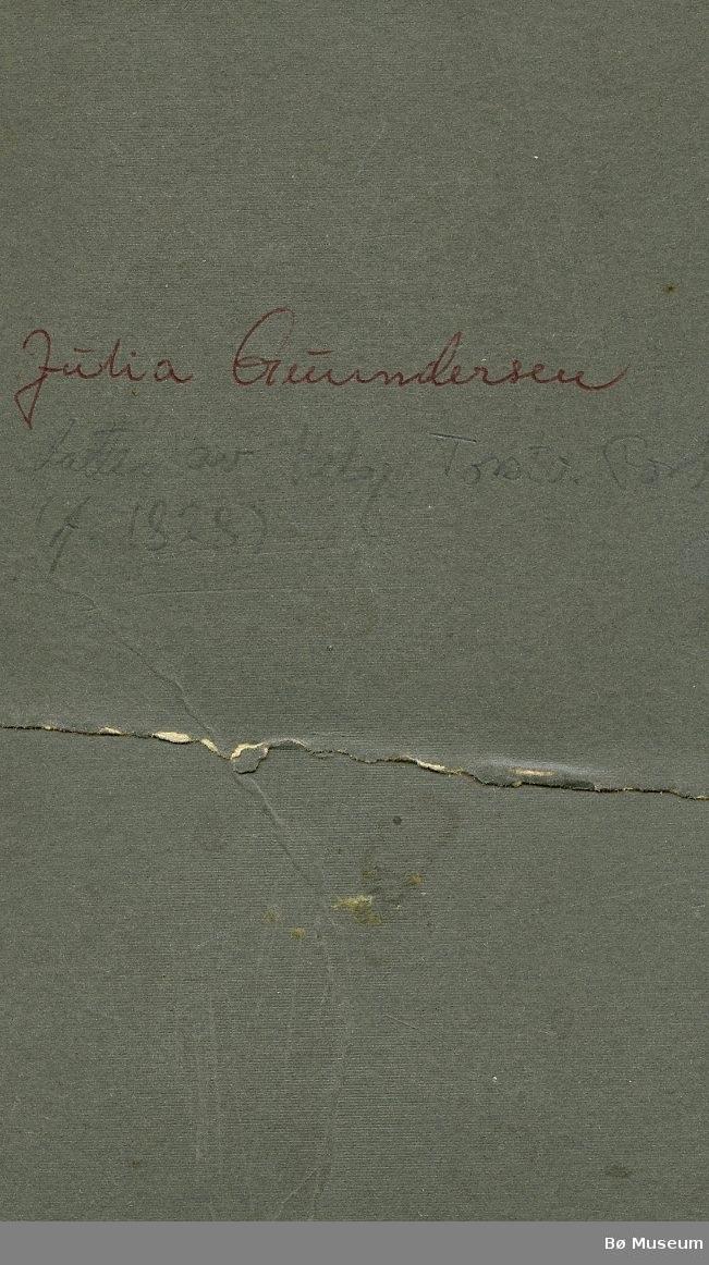 Bilete av Gunhild Forberg (Julie Gundersen)
