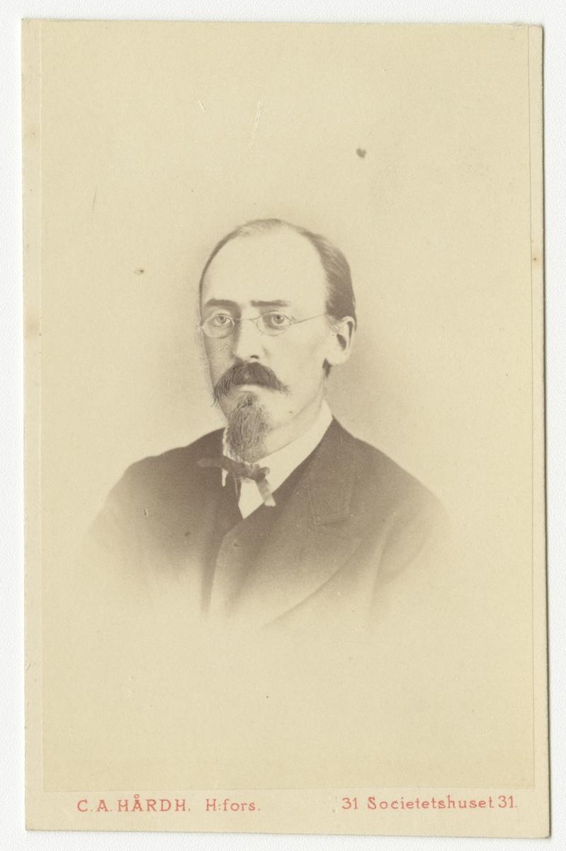 Porträtt av ingenjör Herman Gummerus, Finland.
