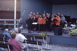 Engelbrektskören underhåller i Ahllöfsparken