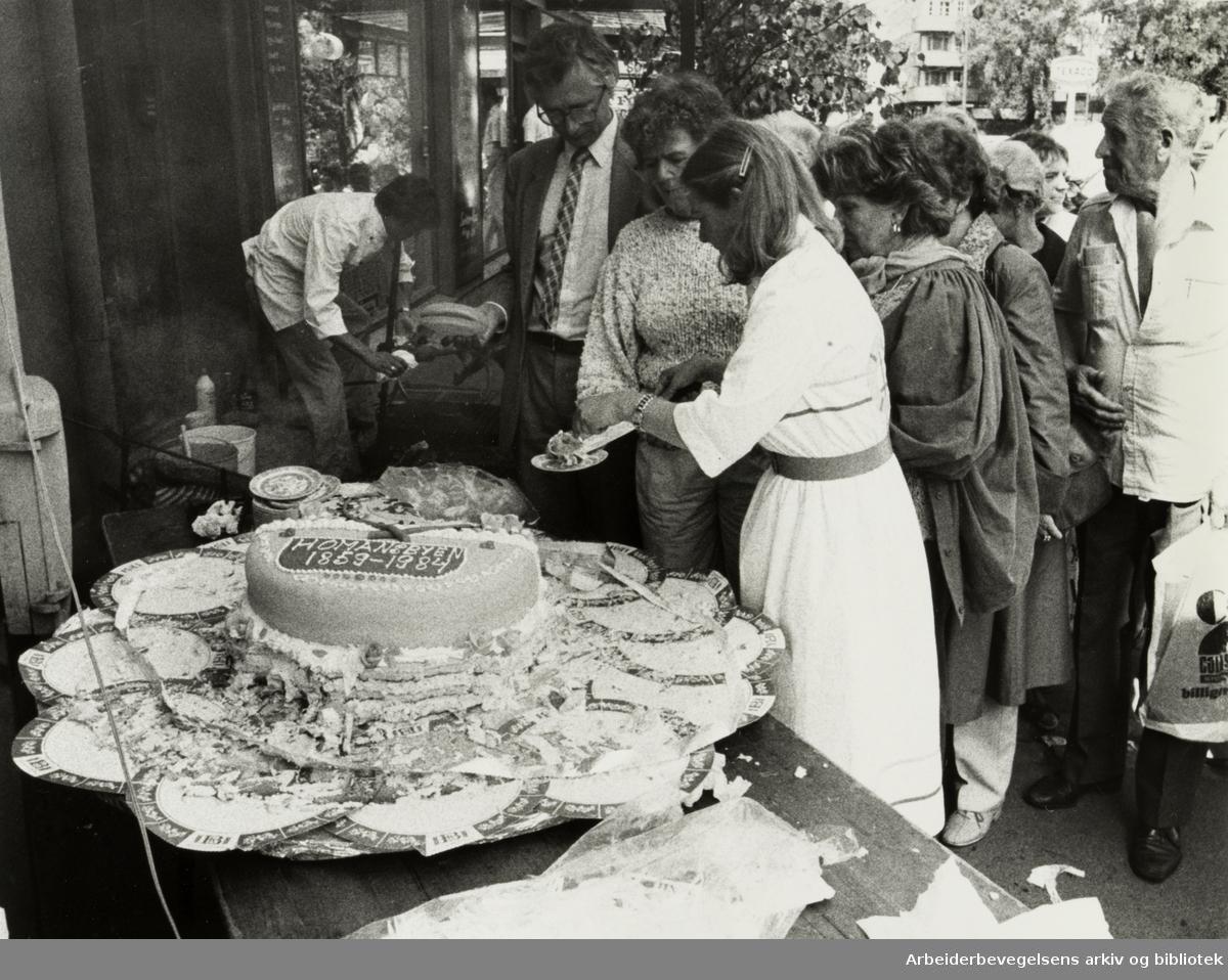 Homansbyen. 125 år jubileum. JUli 1984
