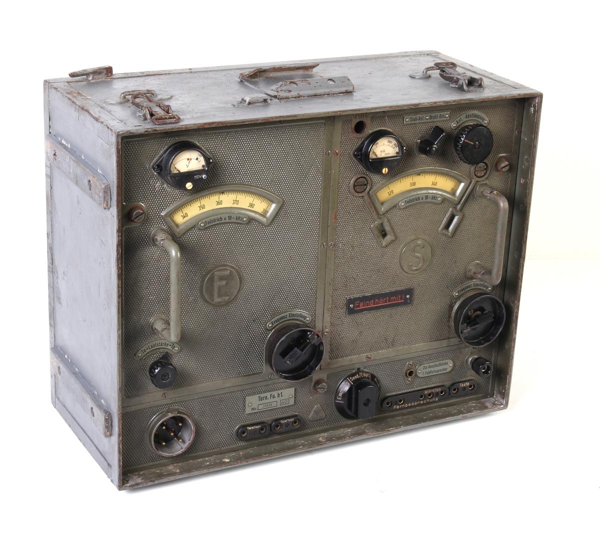 Komplett radiosamband fra Kvalavåg festning