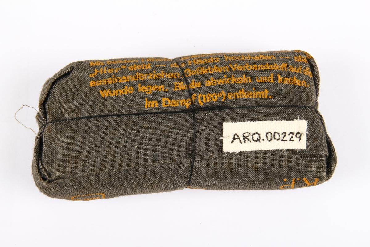 Bandasje fra 1944.