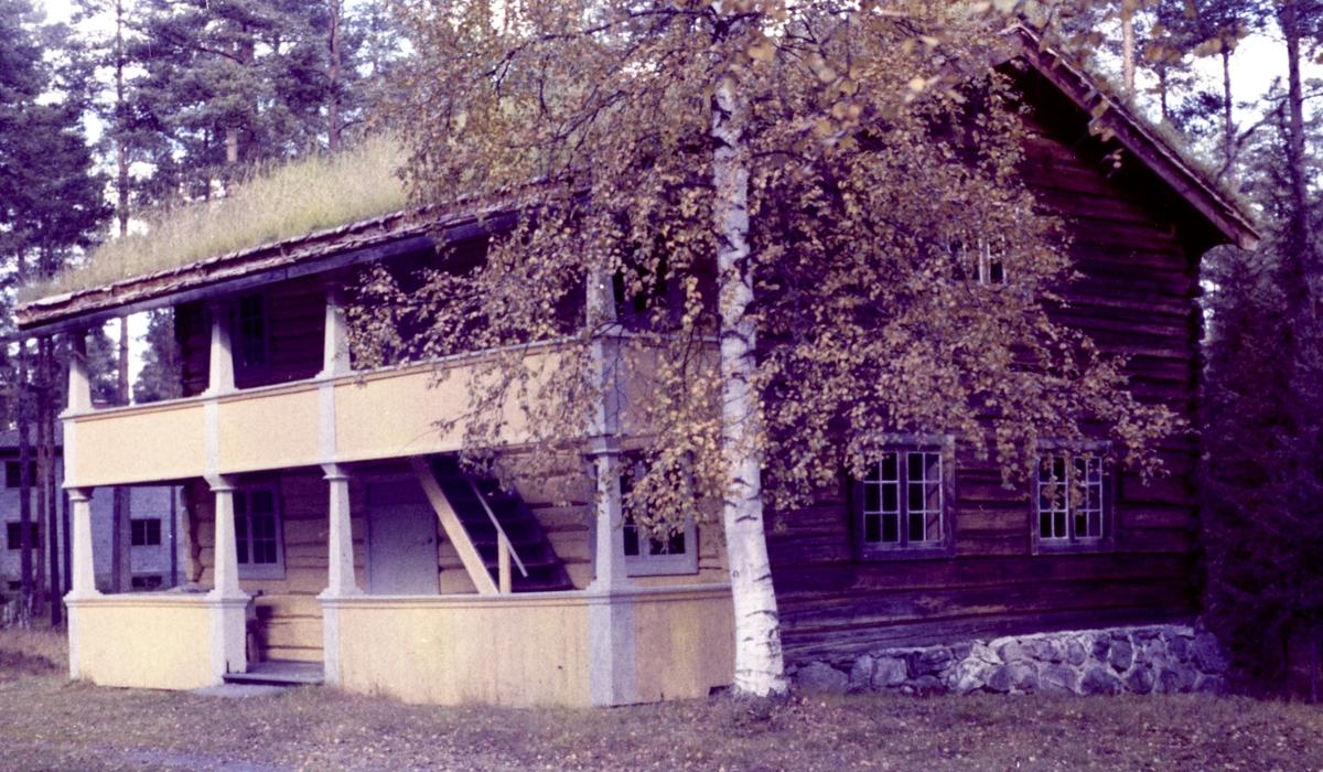 Haugstua. Fargenegativ. foto H. Skirbekk