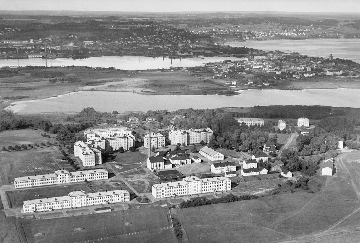 Flygfoto över Jönköping av fotograf Oscar Bladh K1137.