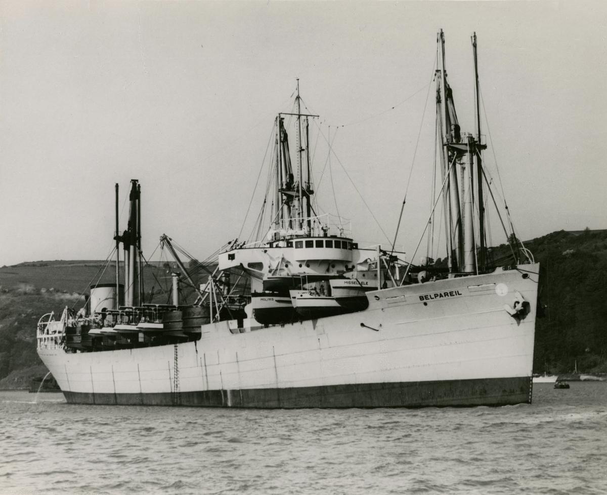 M/S 'Belpareil' (b.1926)(Sir W.G. Armstrong, Whitworth & Co. Ltd., Newcastle)
