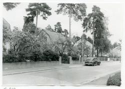 Västerås, Kristiansborg. Villor längs Lärlingsgatan, kv. Lä
