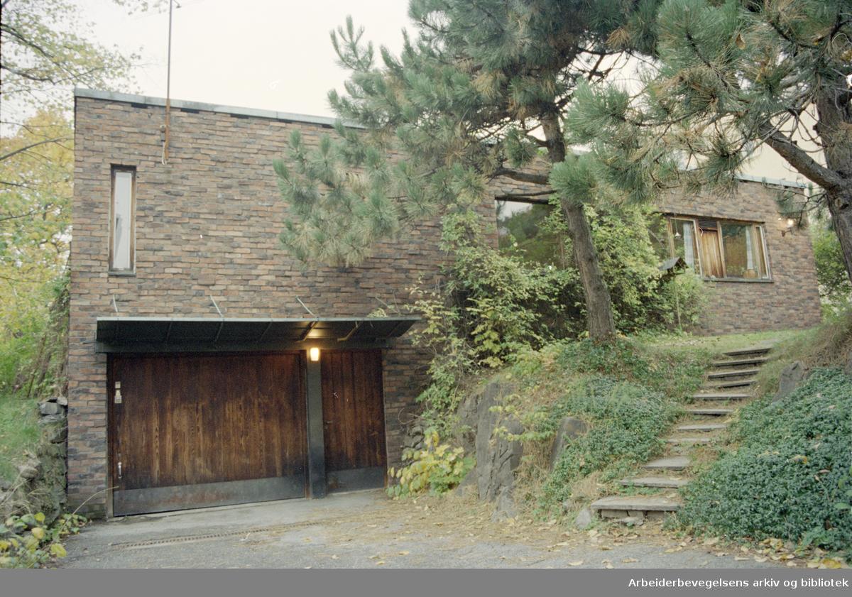Oslo: Lyder Sagens gate 6. 16. oktober 1996