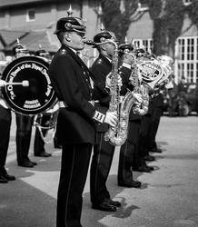 Södermanlands regemente. Fanöverlämning 1997