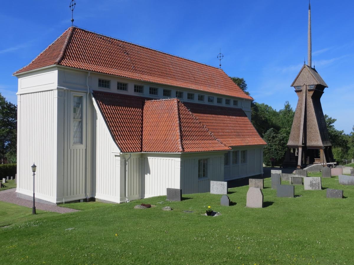 Exteriör, Stengårdshults kyrka i Gislaveds kommun.