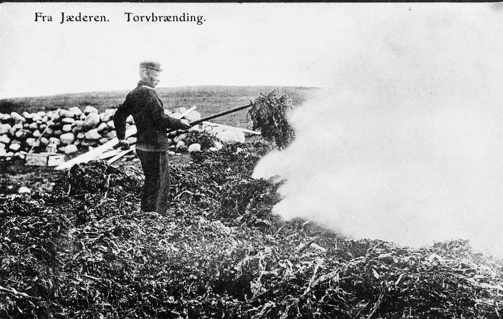 Tarebrenning på Jæren før 1907.