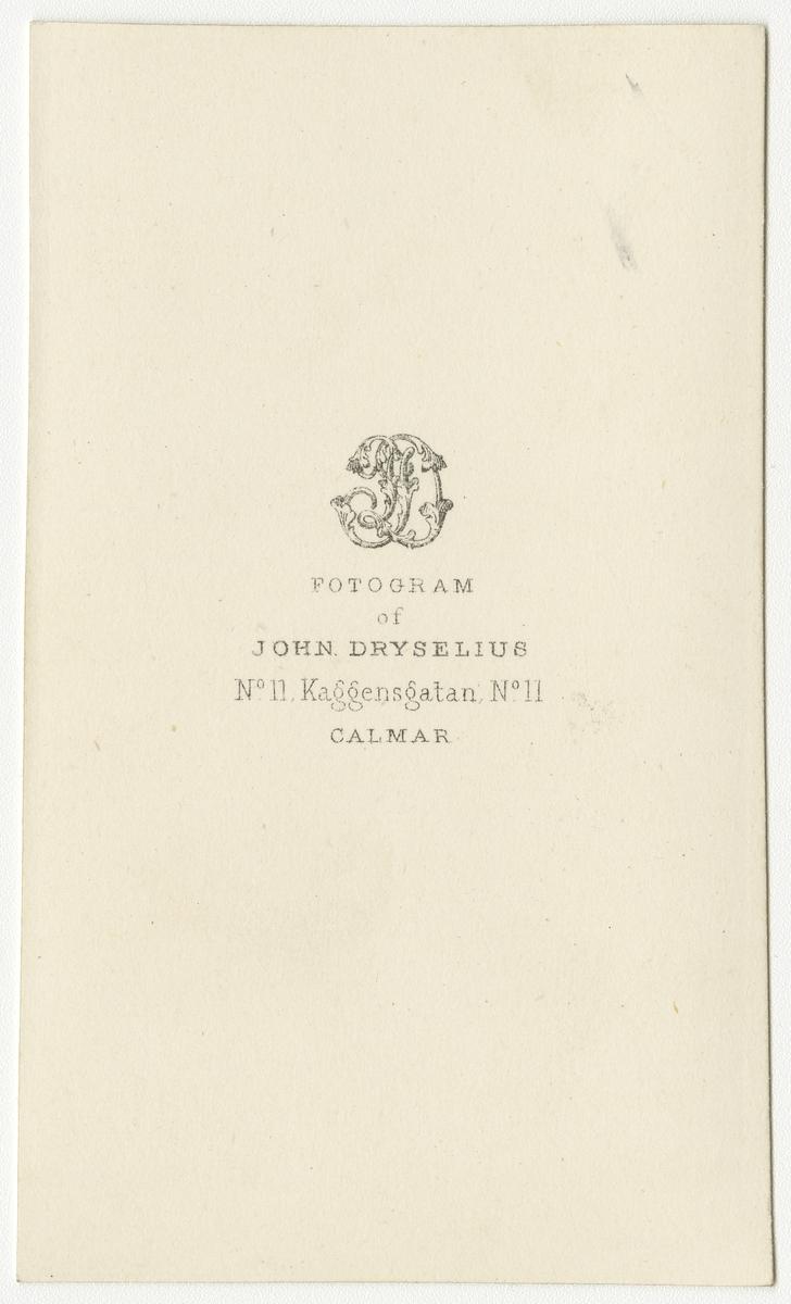 Porträtt av Carl Hjalmar Boheman, löjtnant vid Andra livgrenadjärregementet I 5.