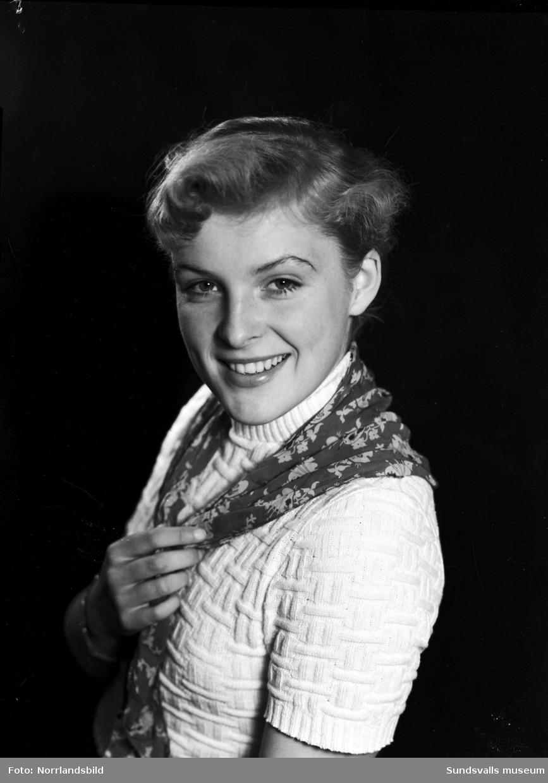 Ann-Mari Nilsson, Midälvaflickan i Ånge, porträttfoton.