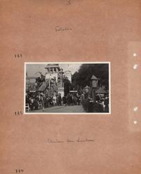Motiv: Utlandet, Berlin 114 - 146 ; Vy över en nöjesspark t