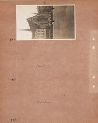 Motiv: Utlandet, Moln 183 - 187, Leipzig 188 - 189 ; Exteri