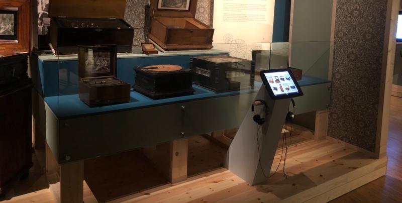 Kulturio Kiosk på Ringve musikkmuseum