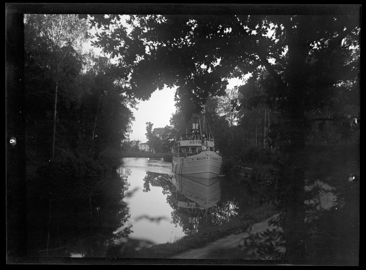 Göta kanal, båten Astrea.
