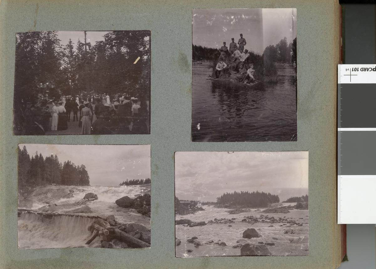 Forsande vatten vid Laxön 1902.