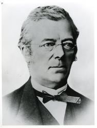 Fredrik Daniel Fritzner Bing (1819-1889) - Gikk på Skien læ