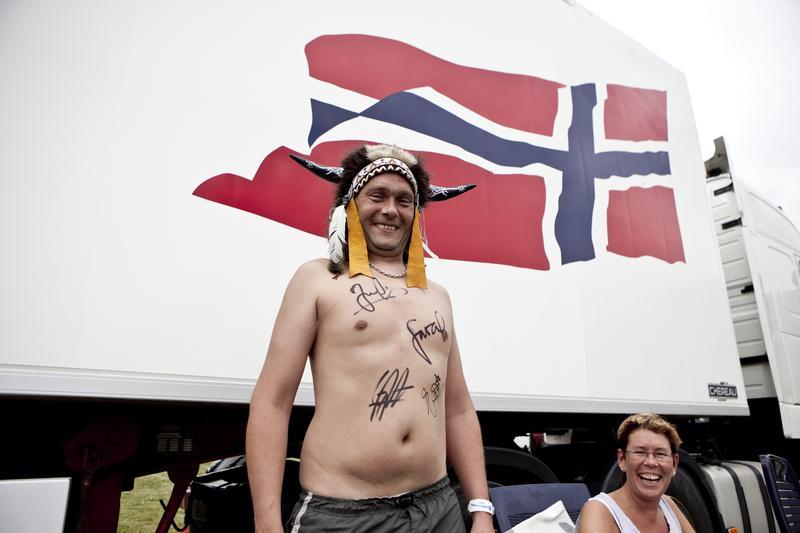 Face 84 fan, Seljord 2009 (Foto/Photo)
