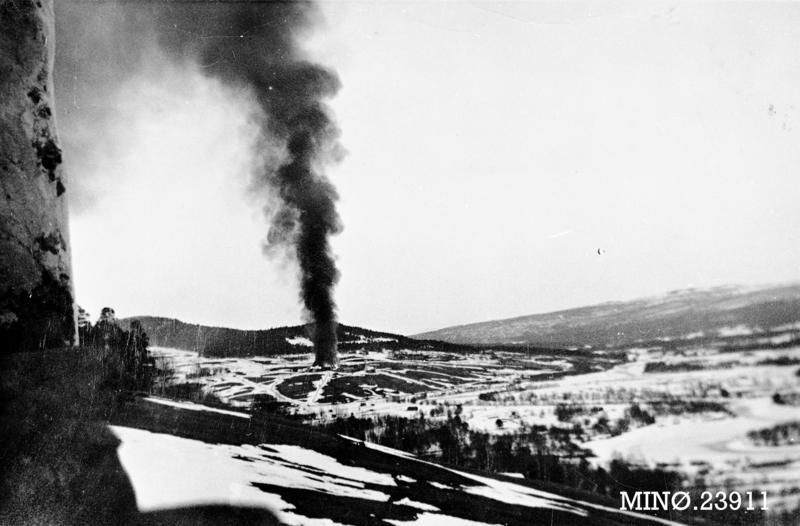 Os-gardene brenner krigen. Foto/Photo