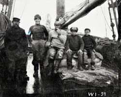 Gjesvær. Russisk skipsmannskap. 1905.