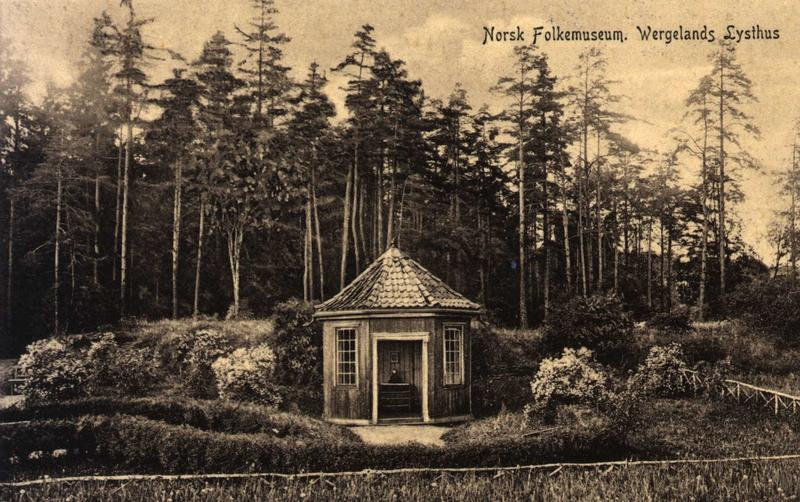 Engelske hage, 1907