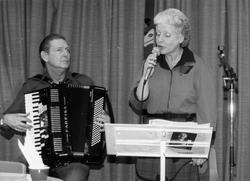 Underhållning vid Kållered hembygdsgilles årsmöte 1986-03-07