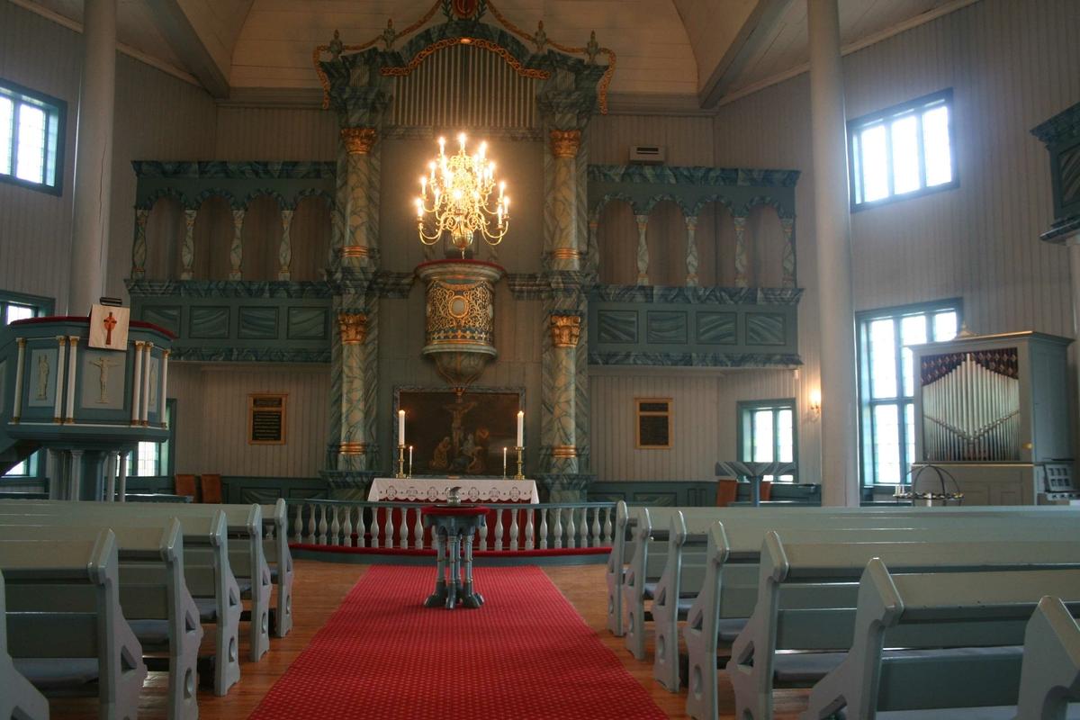 innvendig, Tynset kirke
