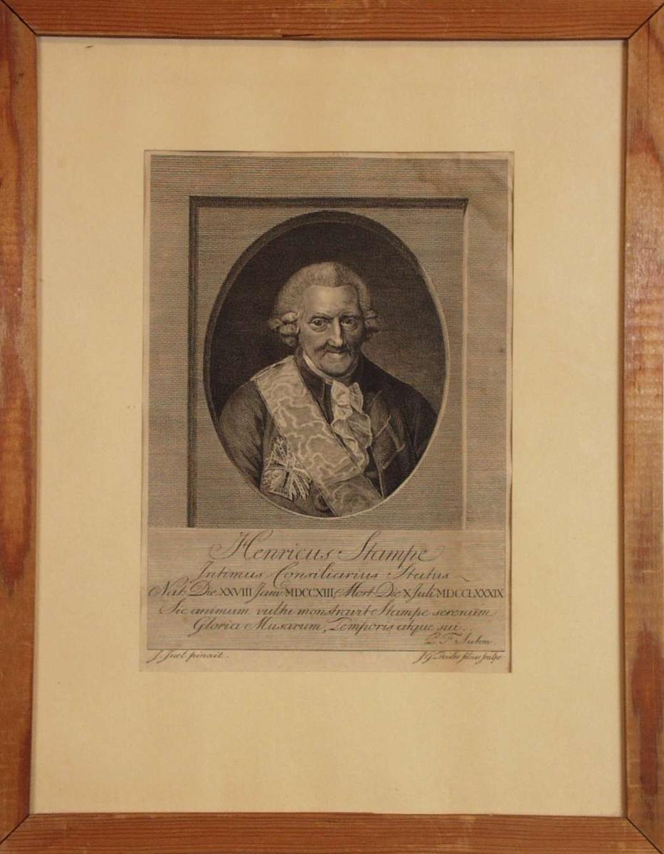 Portrett av Henrik Stampe.