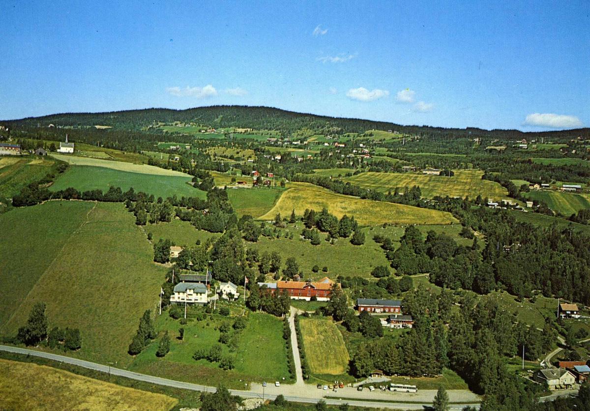 DOK:1978, flyfoto, Aulestad, Follebu, postkort