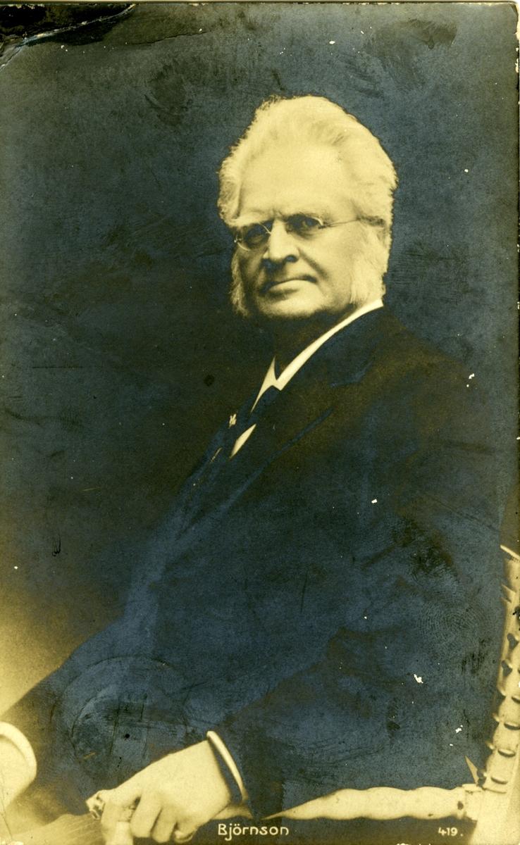 Bjørnson, portrett, postkort,