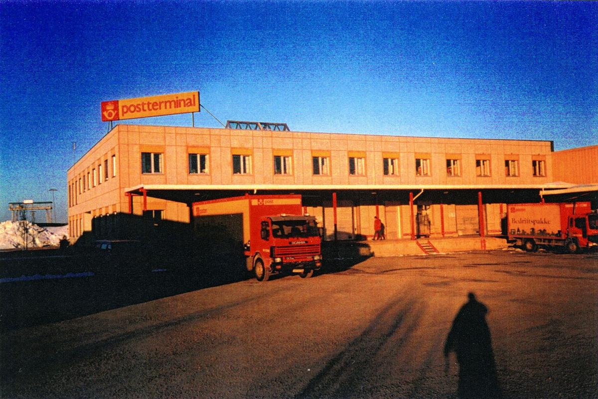 eksteriør, postkontor, 7729 Steinkjer, postterminalen