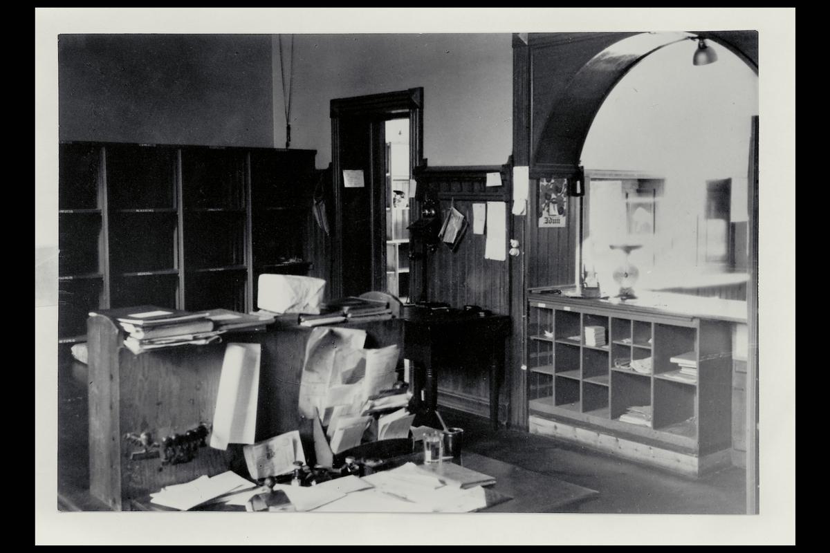 interiør, postkontor, 4604 Kristiandsand S, pakkeavdeling, vekt