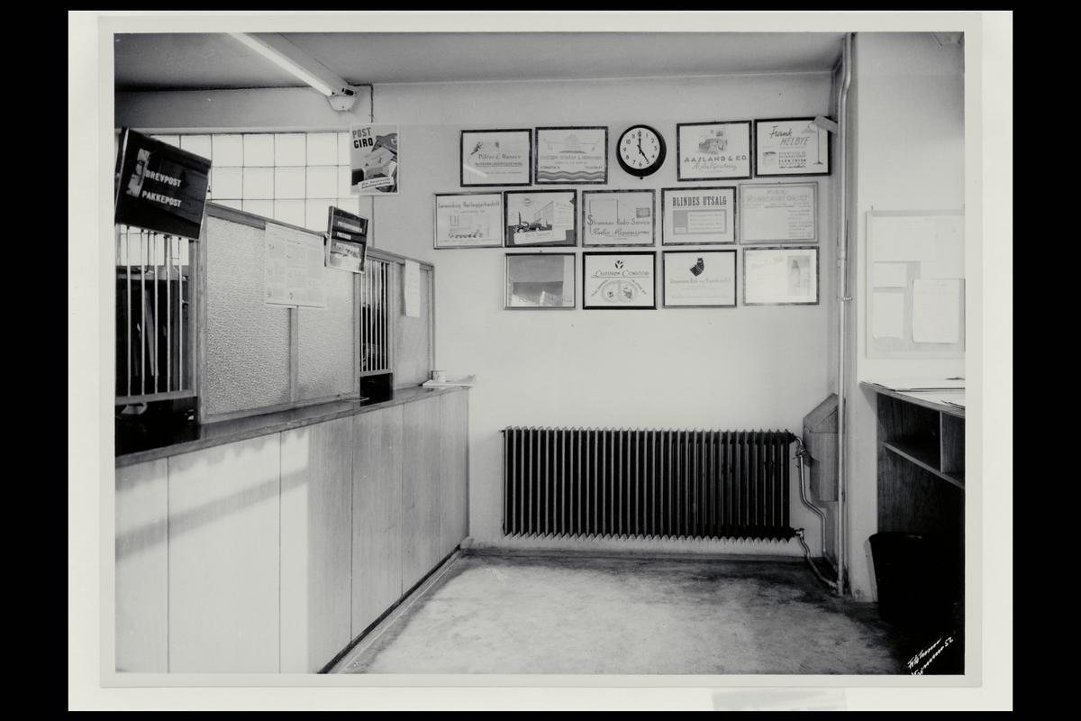 interiør, postkontor, 2010 Strømmen, publikumshall