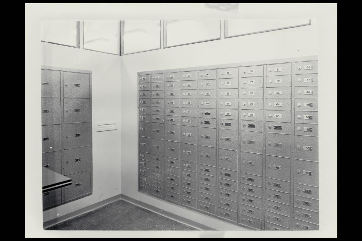 interiør, postkontor, 9950 Vardø, postbokser