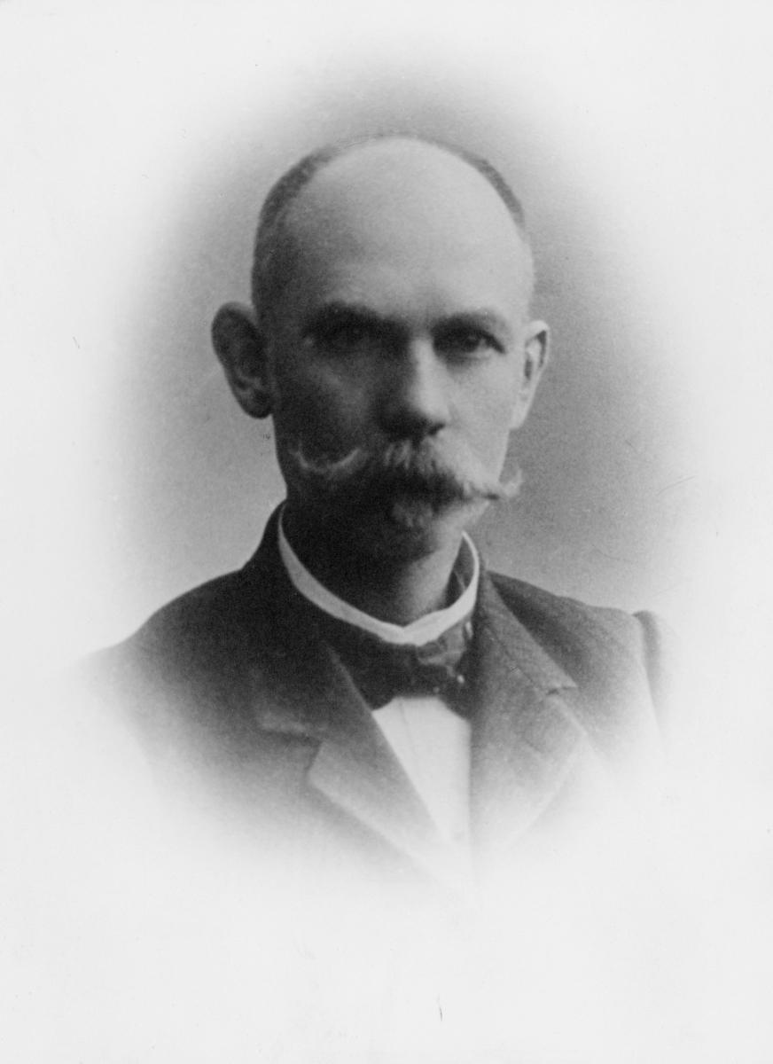 portrett, postmester, Axel Bothner